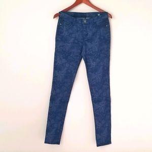 Buffalo Faith mid rise stretch skinny jeans blue